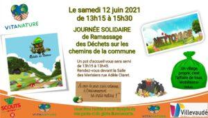 Journée solidaire de Ramassage des Déchets sur les chemins de la commune